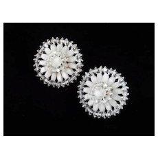 Vendôme Coro Crystal Glass Bead Earrings