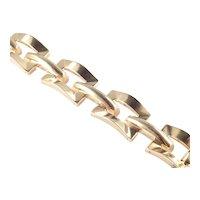 Germany Art Deco Buckle Link Bracelet