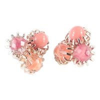 Castlecliff Givre Glass Bead Earrings