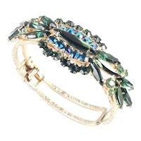 DeLizza & Elster Juliana Rhinestone Clamper Bracelet