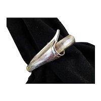 Castlecliff Mid Century Modern Clamper Cuff Bracelet