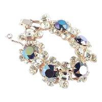 Juliana D & E Classic 5 Link Headlight Rhinestone Bracelet