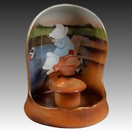 Royal Bayreuth Sunbonnet Babies Candle Holder