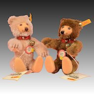 "Cute Pair of 6"" Steiff Teddy Babies"