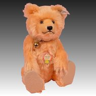 "Large 12"" Steiff Teddy Baby Replica"
