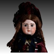 """Appealing Jumeau Model 1907 Bebe with Classic Jumeau """"Look"""" - Size 10 - 23.5 Inches"""