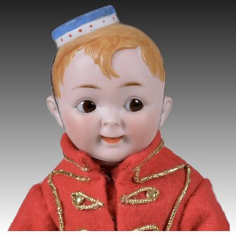 "Rare Elite Googly ""Bellhop"" - 12 Inches"