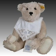 Steiff 1906 Replica Giengen Grey Teddy Bear - 16 Inch