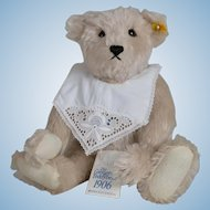 Steiff 1906 Replica Giengen Grey Teddy Bear - 16 Inch