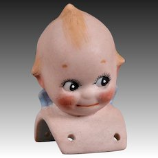Adorable Kewpie Shoulder Head - 2.25 Inches