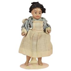 Gebruder Kuhnlanz Black All Bisque Child - 3.5 Inch