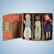 "Charming Boxed ""Little Red Riding Hood"" Set by Freundlich"