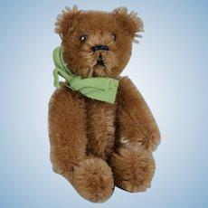 Tiny Schuco Mohair Teddy Bear - 3.5 Inches Tall