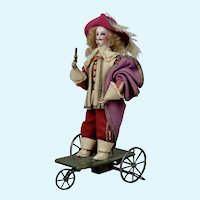 Desirable Vichy Musketeer Mechanical Toy - 12 inches