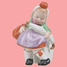 Hold for K Gebruder Heubach Dutch Girl Spill Vase/Figurine - 7 Inches