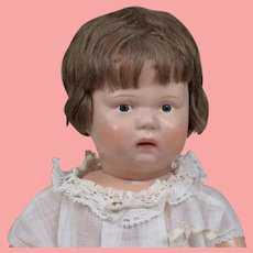 "Beautiful All Original Schoenhut ""Nature Baby"" - 15 Inches Tall"