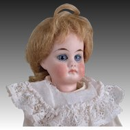 Pouty Sonneberg Child Doll - 9 Inches