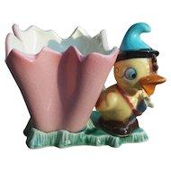 Napco Vintage Planter Adorable Duck