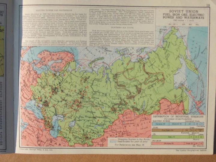 1944 Soviet Russia In Maps It S Origins And Development For The