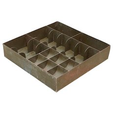 "18"" Large Deep Metal Cash Register Drawer Insert"