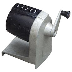Vintage Dazey Black Pencil Sharpener