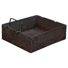 Heavy Perforated Metal Open Box Basket