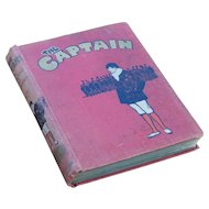 "WWI Era Hip Periodical for Boys ""The Captain"" October 1916 - March 1917"