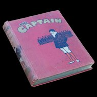 """WWI Era Hip Periodical for Boys """"The Captain"""" October 1916 - March 1917"""