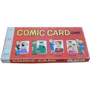 1972 Milton Bradley Comic Card Board Game Popeye Beetle Bailey Blondie Dagwood Hi & Lois