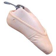 Vintage Doll Ballet Slipper Pendant