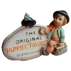 Vintage Hummel Merry Wanderer Plaque #187 TMK-4