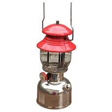 Vintage Coleman Chrome Bottom 200 lantern
