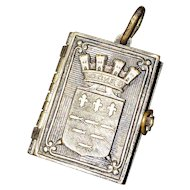French Souvenir Touring Loches Photo Book Locket