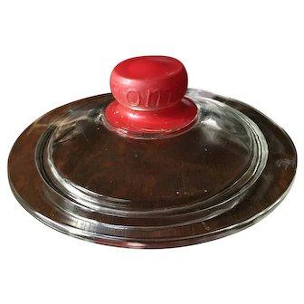 Tom's Vintage Candy Peanut Jar Lid