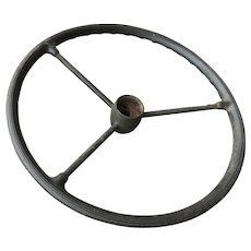 Mid Century Military Jeep MB Steering Wheel