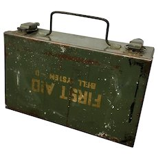 Bell System - D Metal First Aid Box