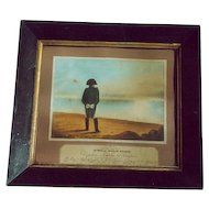 Morgan's Improved Protean Scenery: Napoleon - Powerless and Powerful: metamorphic print