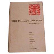 The Private Presses by Colin Franklin