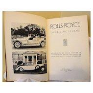 Rolls-Royce - The Living Legend: Post Motor Books: 1958
