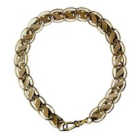 Victorian Gold Fronts Book Chain Bracelet