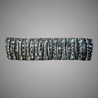 Exquisite Art Deco Paste Bracelet