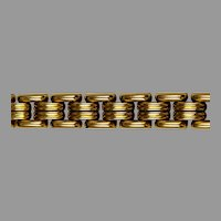 Quality Retro Swiss Gold Plate Bracelet