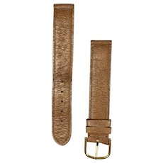 Vintage Tiffany & Co France Leather Watch Band