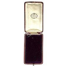 Antique European Jewelry Display Presentation Box RARE