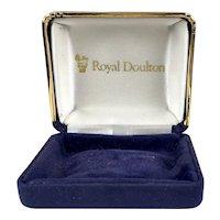 Vintage Royal Doulton Jewelry Display Presentation Box