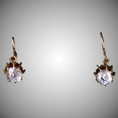 Art Deco Paste Drop Earrings