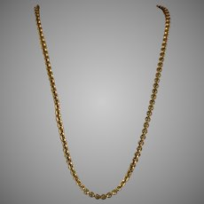 Antique Victorian Long Chunky Chain