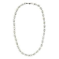Elegant Art Deco Rhinestone Necklace