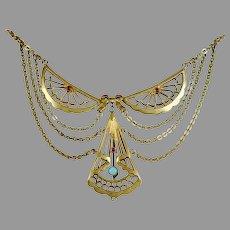 Enchanting Edwardian Festoon Necklace