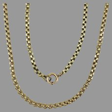 Victorian Thick Gold Filled Chain